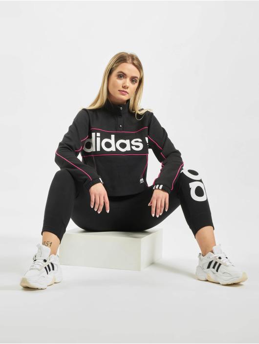 adidas Originals Pullover Cropped schwarz
