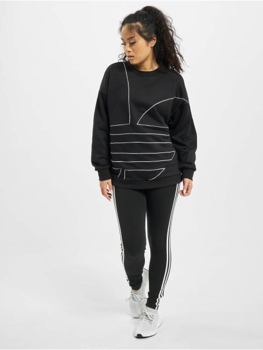 adidas Originals Pullover LRG Logo schwarz