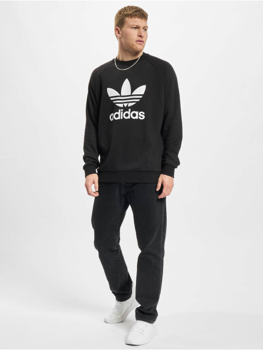 adidas Originals Pullover Trefoil Crew schwarz