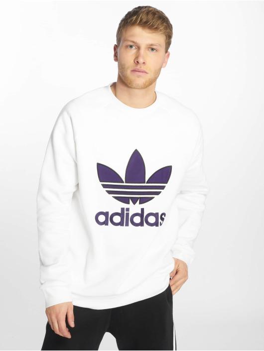 adidas originals Pullover Trefoil weiß