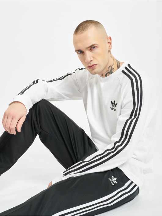 adidas Originals Pullover 3 Stripes white