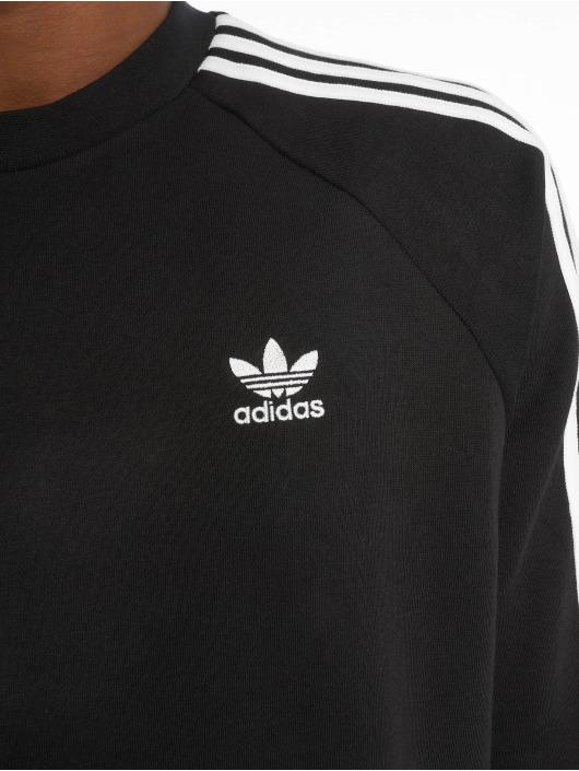 adidas originals Pulóvre 3-Stripes èierna