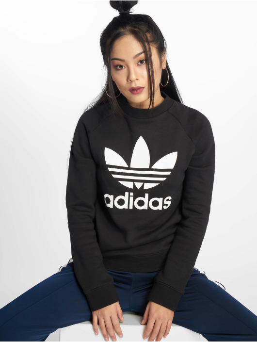 adidas Originals Pulóvre Trefoil èierna