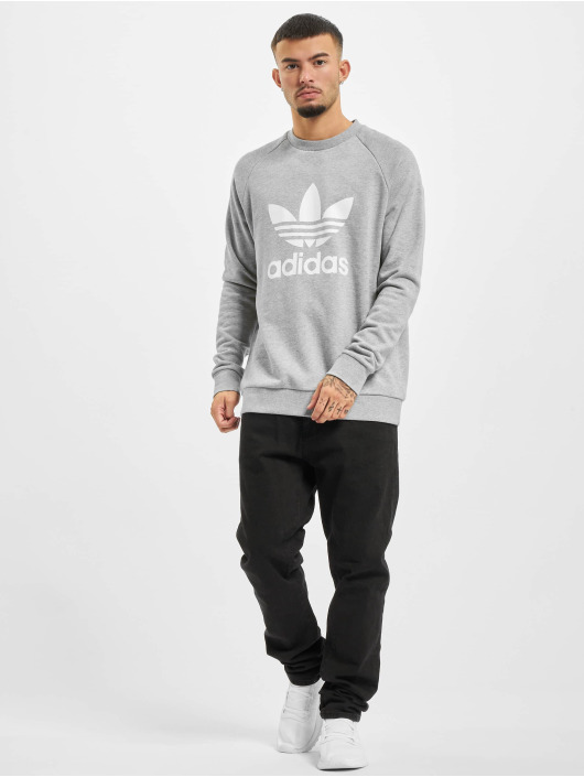 adidas Originals Pulóvre Trefoil šedá