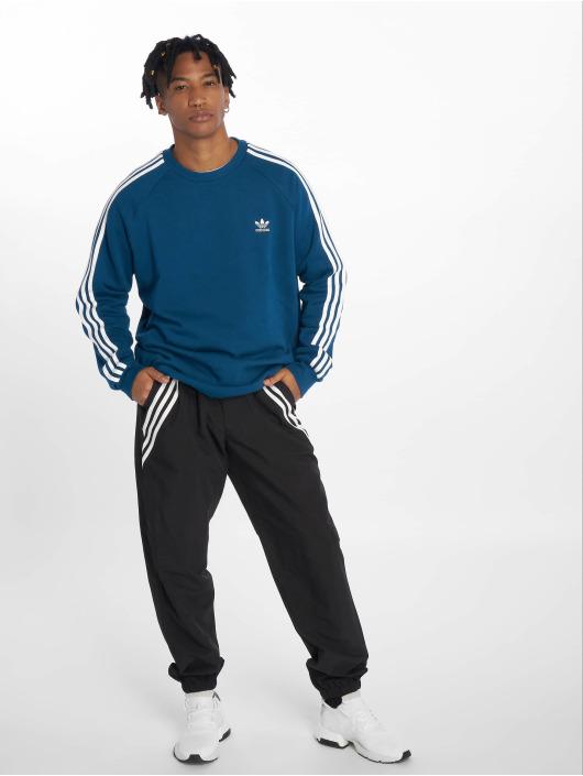 adidas originals Pulóvre Originals 3-Stripes modrá