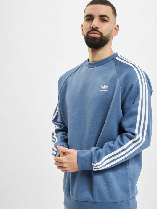 adidas Originals Pulóvre 3-Stripes modrá