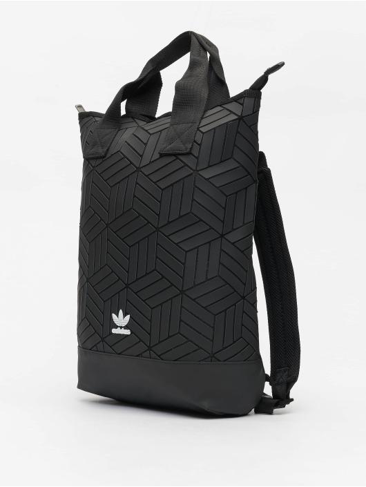 riesiges Inventar hoch gelobt Heiß-Verkauf am neuesten adidas Originals Rucksack Roll Top 3D in schwarz 716304