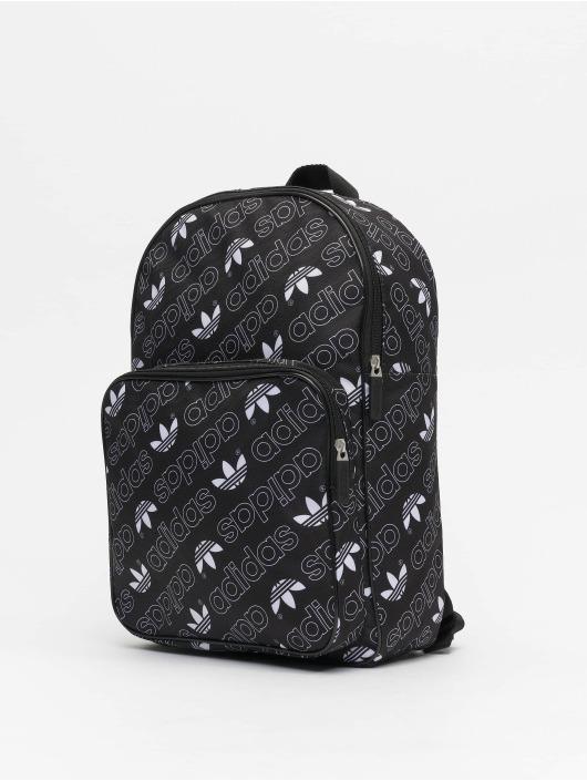 adidas Originals Classic M Adicolor Graphic Backpack Black/White
