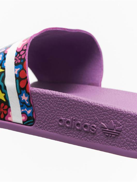 adidas originals Sandalen Adilette violet