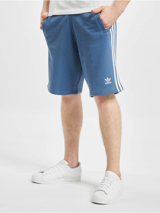 adidas Originals Short Originals 3-Stripe bleu