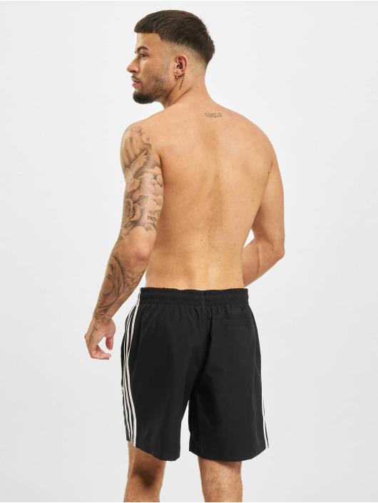 adidas Originals Short de bain 3-Stripes noir
