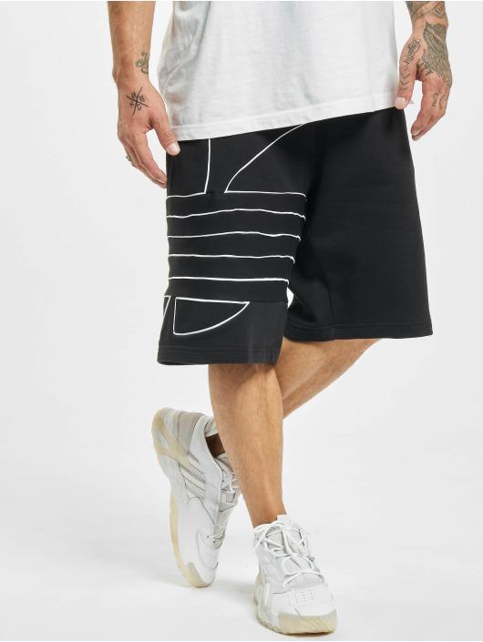 adidas Originals Short Big Trefoil Outline noir