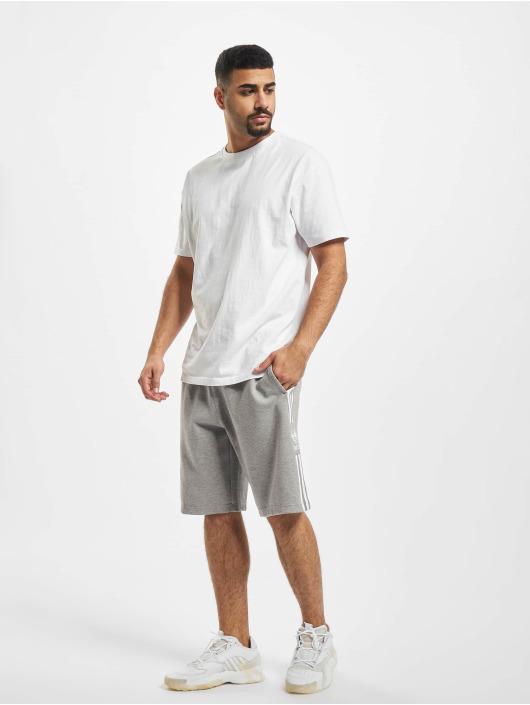adidas Originals Shorts Lockup Long grau