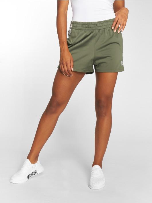 adidas originals Shorts 3 Stripes grön