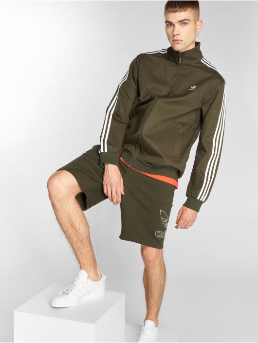 adidas originals shorts Outline olijfgroen