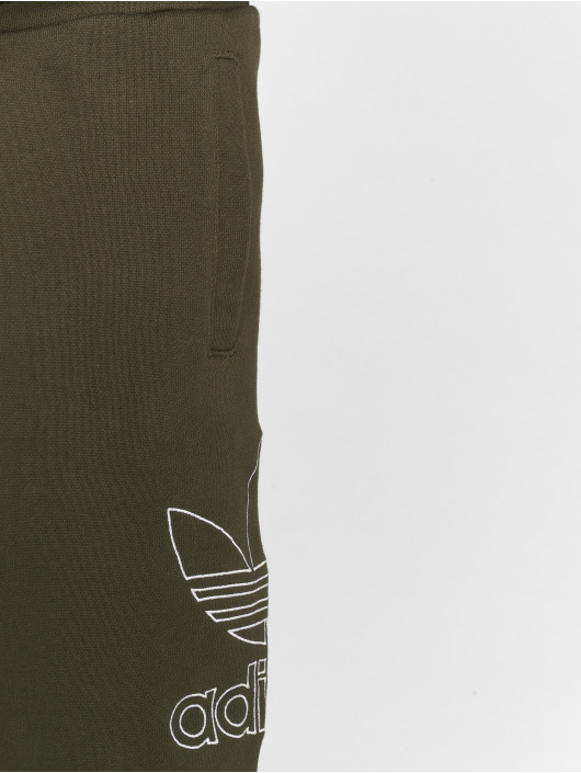 adidas originals Shorts Outline olive