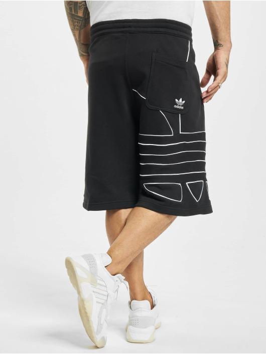 adidas Originals Shorts Big Trefoil Outline schwarz