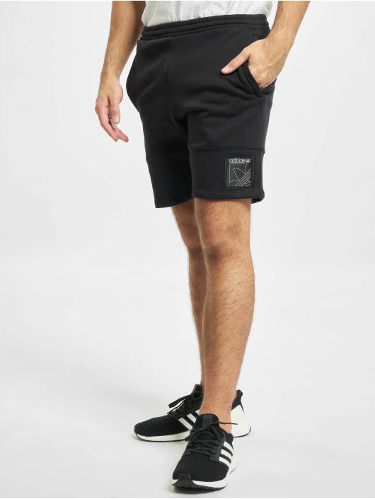 adidas Originals Shorts OTL 3-Stripes svart