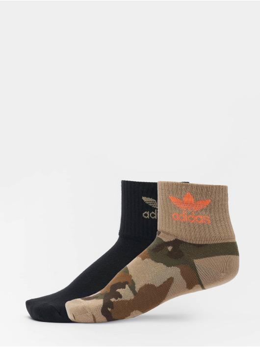 adidas Originals Skarpetki Originals Camo Mid Ankle czarny