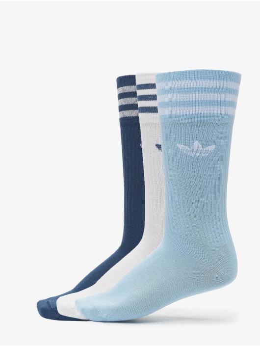 adidas Originals Skarpetki Solid Crew niebieski