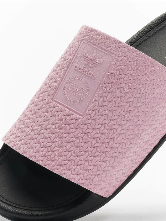 adidas Originals Slipper/Sandaal Adilette Luxe pink