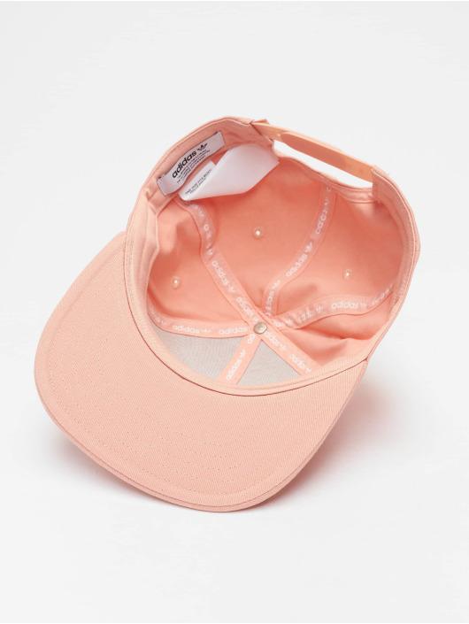adidas originals Snapback Cap Adicolor Cap Trefoil Flat rosa