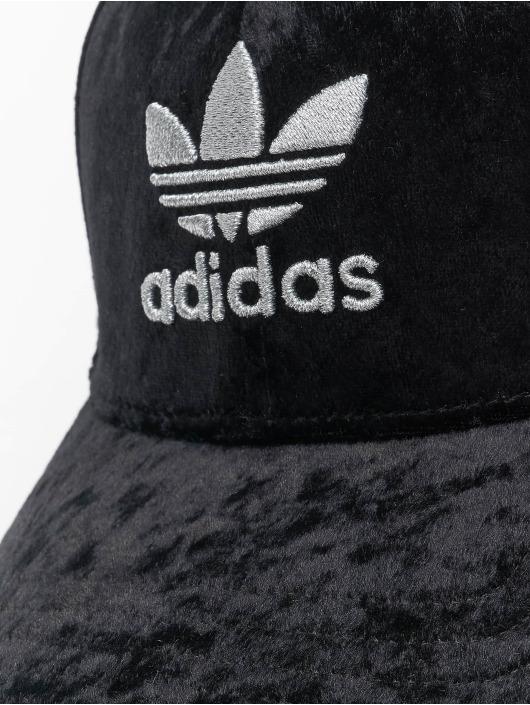 adidas Originals Snapback Cap Velour schwarz