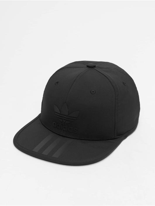 adidas Originals 3 Stripe Snapback Cap Black/Black