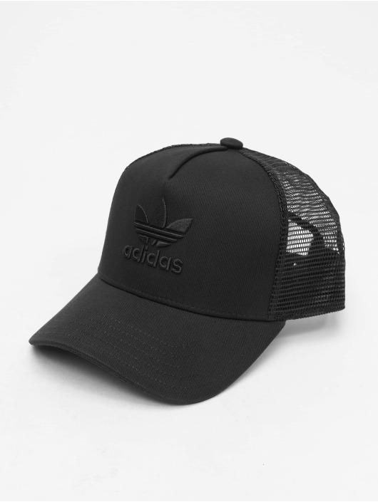 adidas Originals AF Trucker Trefoil Snapback Cap WhiteWhite