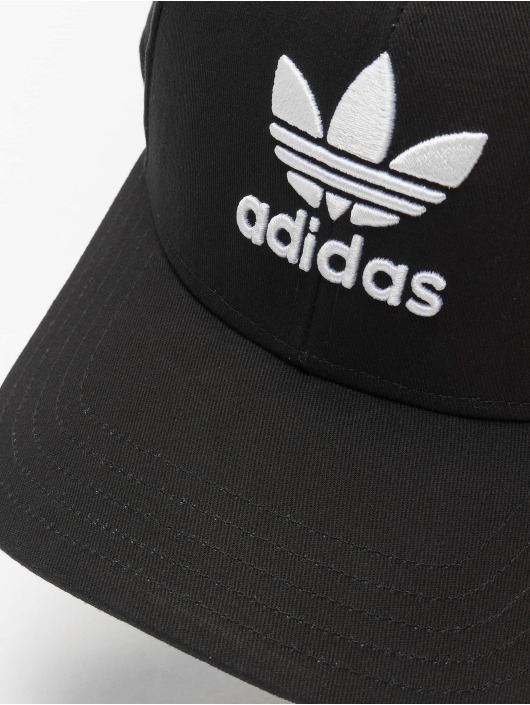 adidas Originals Snapback Caps Classic Trefoil čern