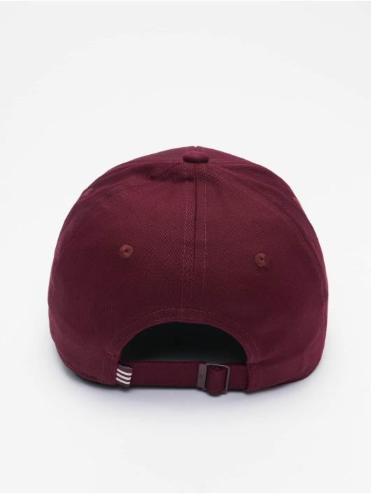 adidas Originals Snapback Caps Classic Trefoil červený