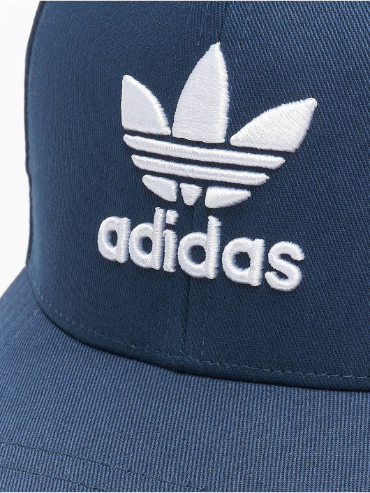 adidas Originals Snapback Caps Classic Trefoil Baseball niebieski