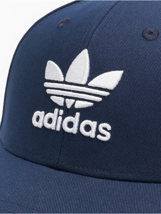 adidas Originals Snapback Classic Trefoil modrá