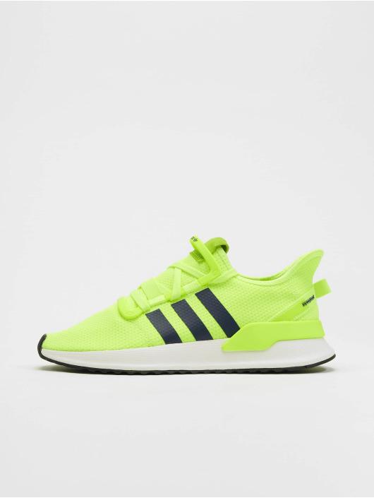 Schwarz Gelb Sneaker High Schuhe Damen Adidas Originals