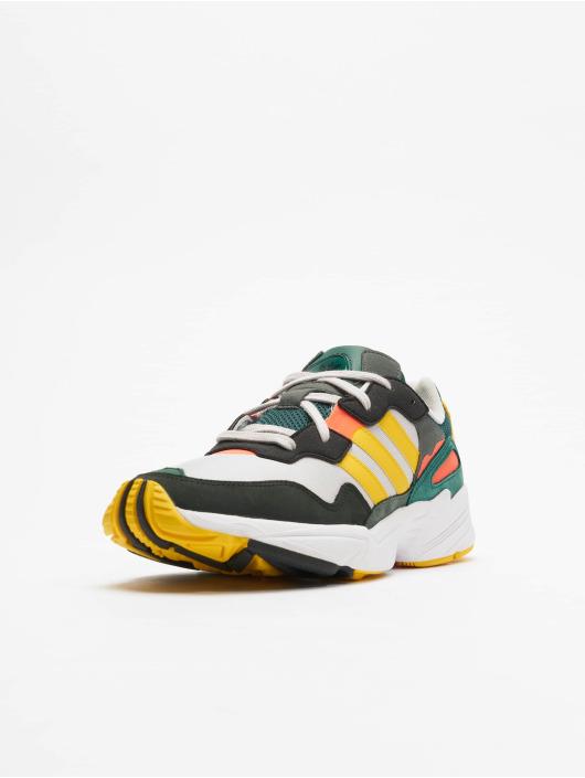 Adidas Sneaker High mit blauen Streifen 38 Sehr gut erhalten