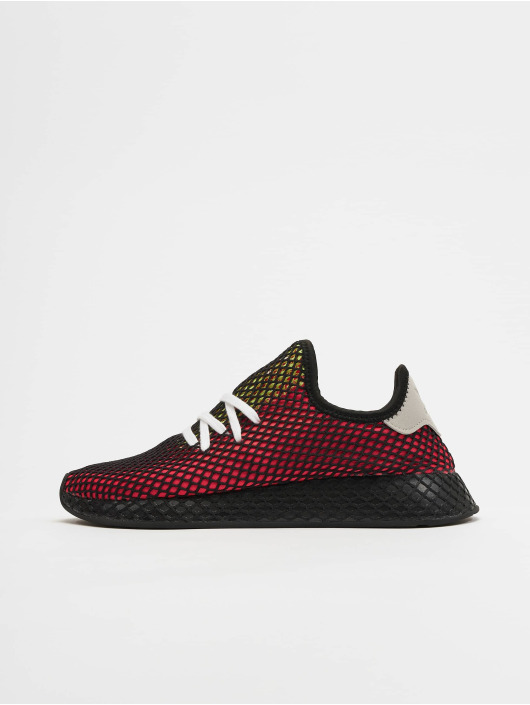 adidas Originals Deerupt Runner Sneakers Shock RedRealilCore Black