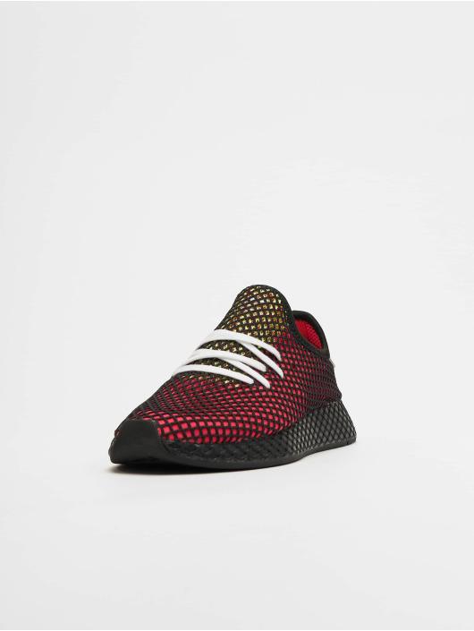 aika halpaa yksityiskohdat ilmainen toimitus adidas Originals Deerupt Runner Sneakers Shock Red/Realil/Core Black