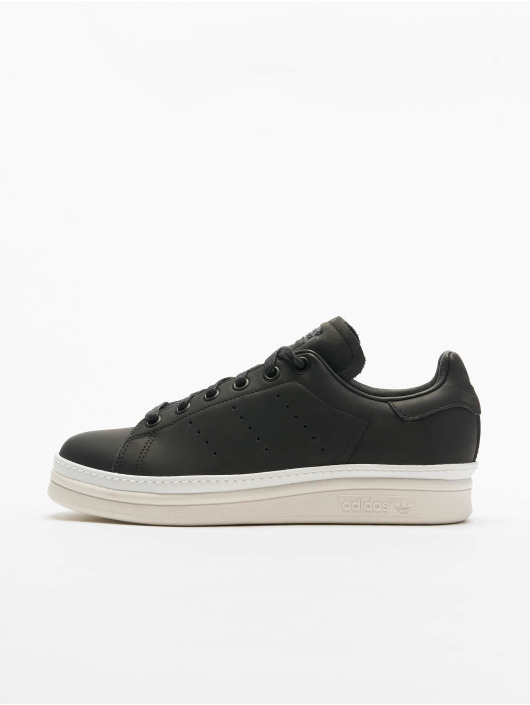 check out 605f6 5d4da ... adidas originals Sneaker Stan Smith schwarz ...