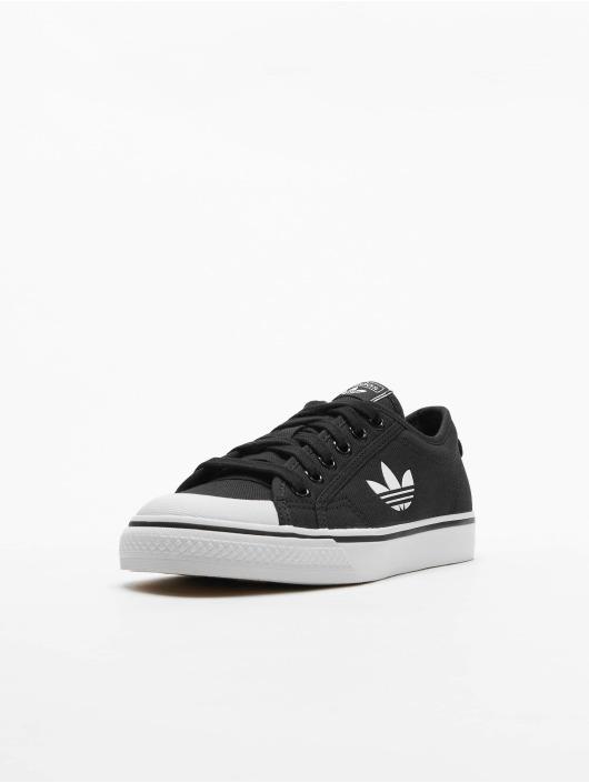 Adidas Nizza Trefoil Sneakers Core BlackFtwr WhiteCrystal White