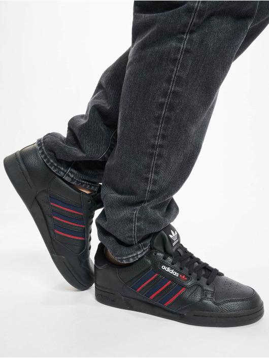adidas Originals Sneaker Continental 80 Stripe schwarz