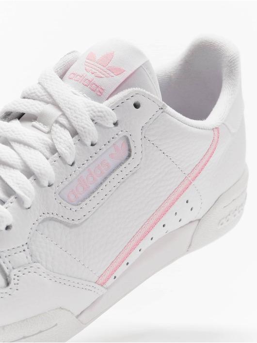 Ftwr Originals Adidas 80 White Sneakers W Continental wk0POn