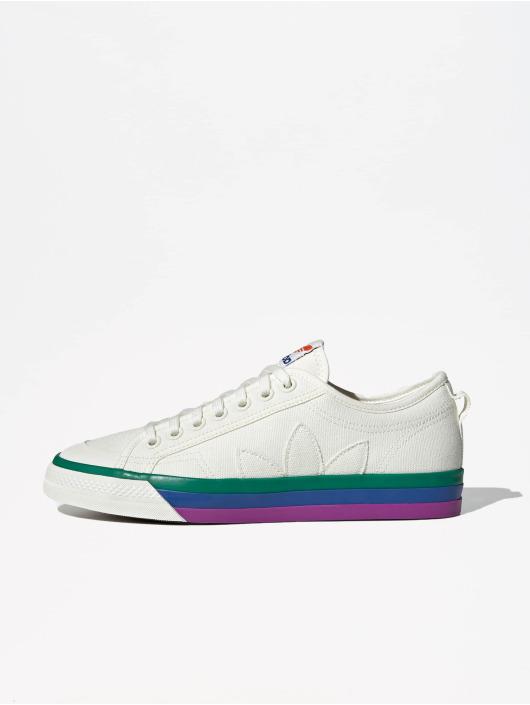 adidas Originals Sneaker Nizza Pride weiß