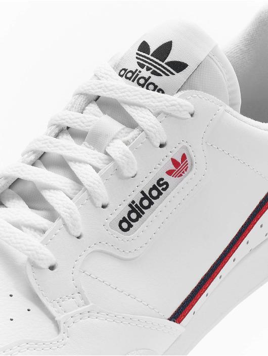 adidas originals Sneaker Continental 80 J weiß
