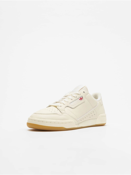 Adidas Originals Continental 80 Sneakers Off White/Raw White/Gum 3