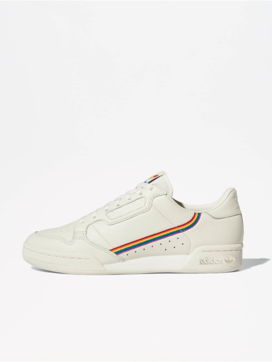 Adidas Originals Continental 80 Pride Sneakers Off White