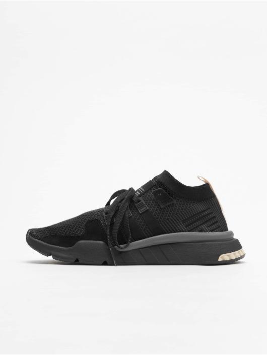 Adidas Originals Eqt Support Mid Adv Sneakers Core BlackCarbonCore Brown