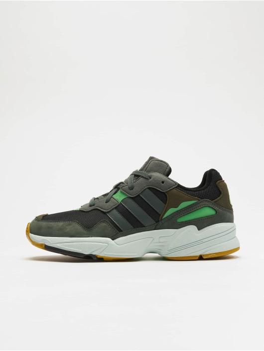 c9a455b9a2f adidas originals schoen / sneaker Yung-96 in zwart 600954