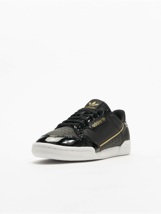 Adidas Continental 80 Sneakers Core Black/Ftwr White/Golden Met.