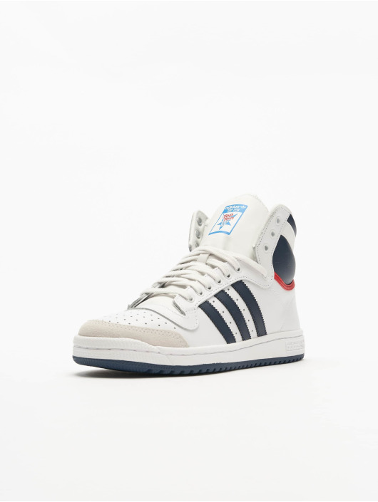 adidas Originals Sneakers Top Ten Hi Basketball Shoes bialy
