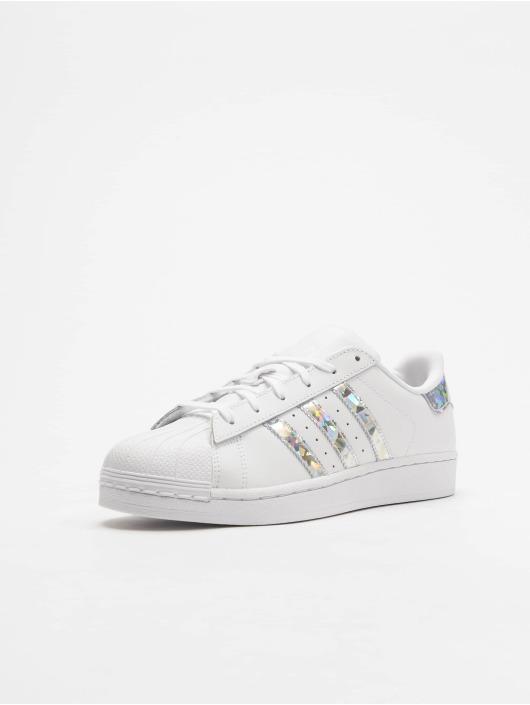 adidas Originals Sneakers Superstar J bialy